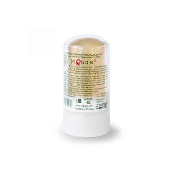минеральный дезодорант-стик LAQUALE с экстрактом коры дуба